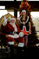 Santa at Spring Creek Golf