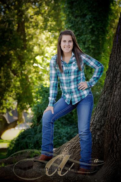 Senior in Cowboy boots
