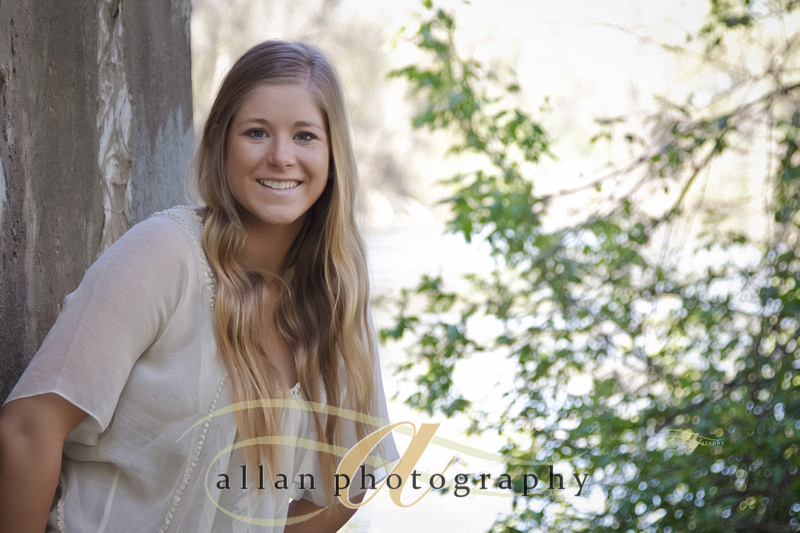 Senior portrait by the water
